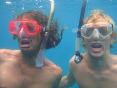 Trekking hard in the Caribbean
