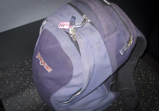 This backpack and the clothes on my back handled three summer months in Europe