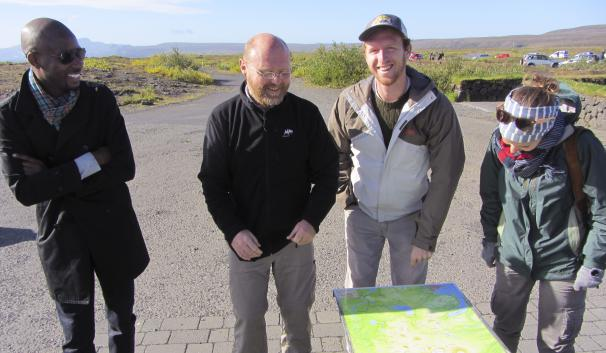 Former tour-guide Bragi filled his car with couchsurfers for a tour in Iceland.